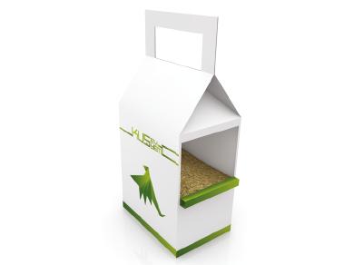 Bird House & Seed